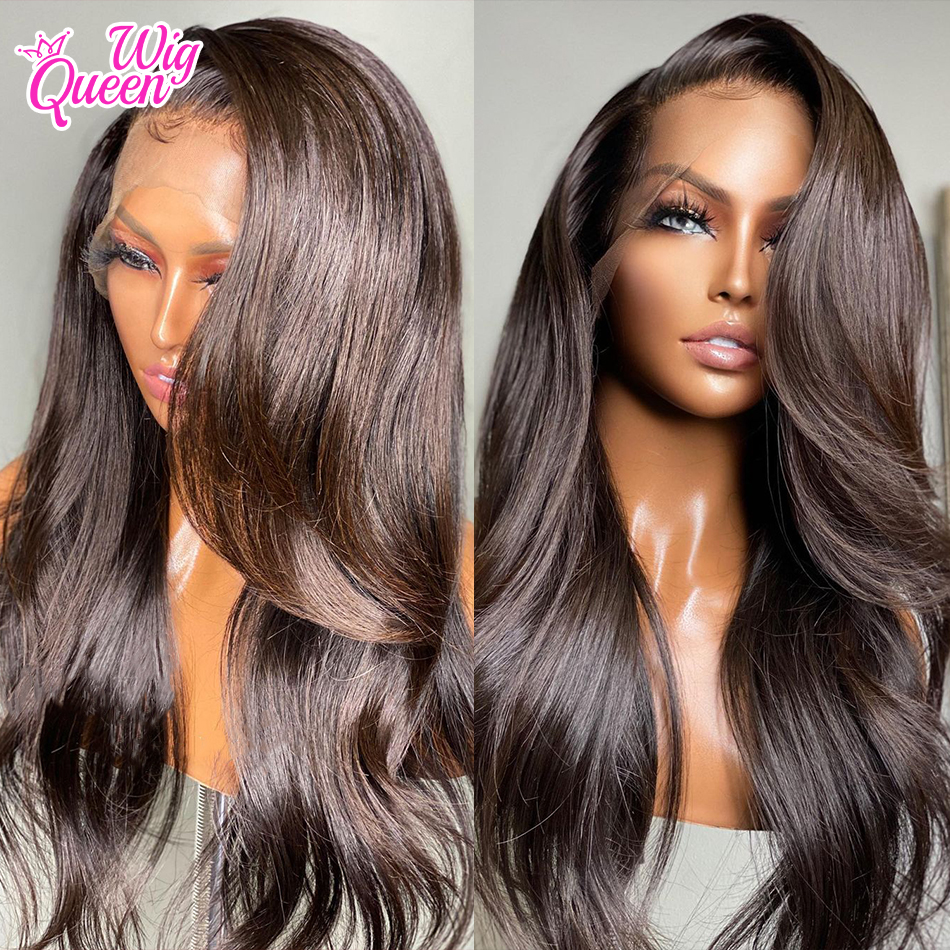 Body Wave 30Inch 13x4/13x6 Lace Front Human Hair Wigs Pre Plucked Virgin 4x4 Closure Brazilian Frontal Wig For Black Women