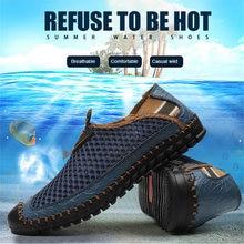 Кроссовки мужские быстросохнущие дышащие Сникерсы для воды летняя