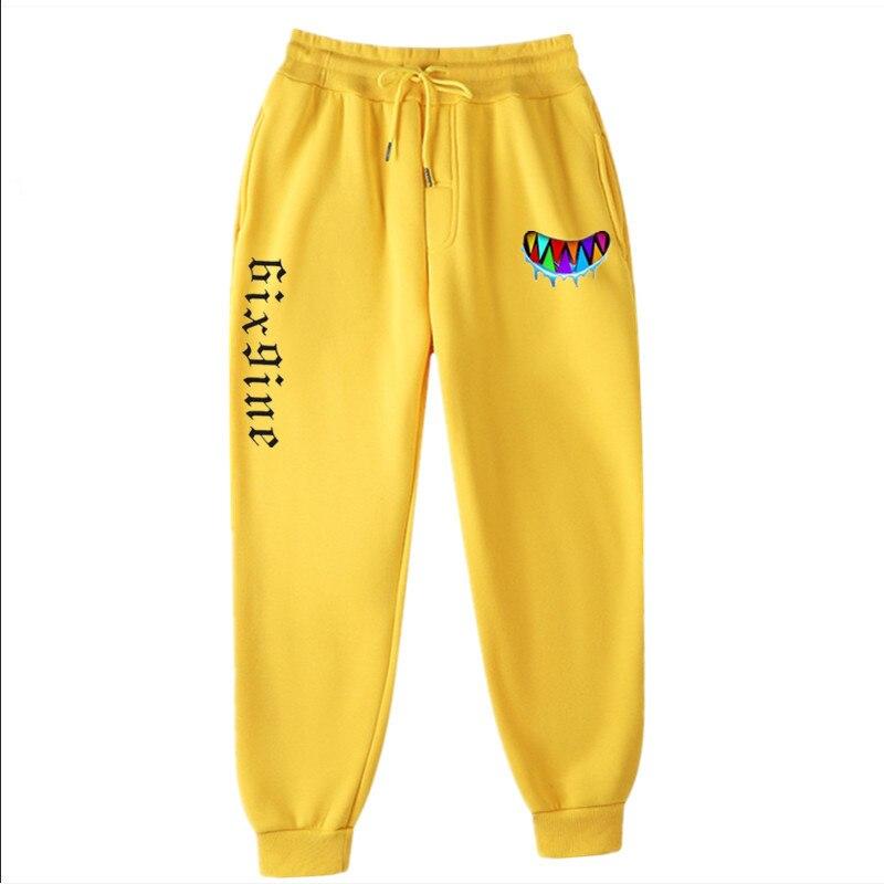 New 6ix9ine GOODA Pants Hip Hop Streetwear European American Fashion Velvet Warm Joggers Men Women Soft Trousers Men Clothing
