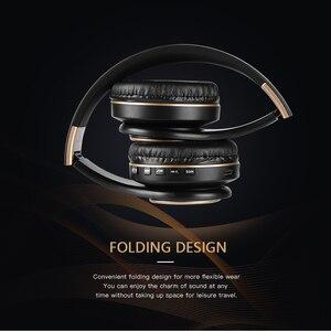 Image 4 - Scrub Wireless Headphone Portable Bluetooth 5.0 Earphone Foldable Handsfree Headset For Ear Head Phone iPhone Xiaomi Huawei