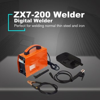 цена на Digital Display DC Inverter ARC Welder 220V IGBT Portable Welding Machine Home DIY Repairing EU Automatic Thermal Safety Protect