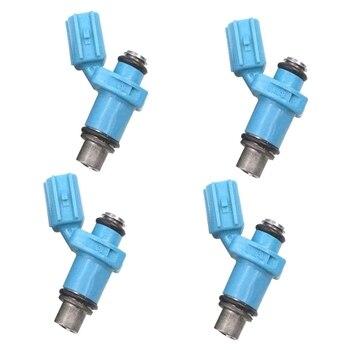 4Pcs Motorcycle Fuel Injector Marine Fuel Injector for Yamaha 0-50-60 HP 4 Stroke HP 2 Stroke 6C5-13761-00-00