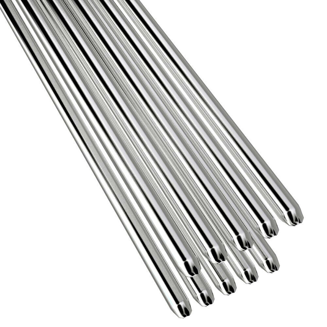 5/10/20Pcs Aluminum Alloy Welding Rods 1.6/2mm Welding Wire Rods Low Melting Point No Need Solder Powder Light Weight Durable