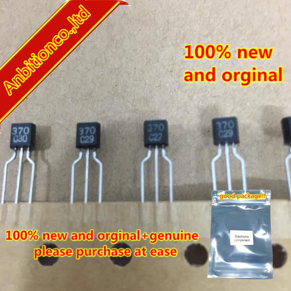 10pcs  100% New And Orginal KV1370NT KV370 370 TO-92 VARIABLE CAPACITANCE DIODE  In Stock