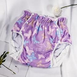 Бесплатная доставка, подгузники для взрослых с рисунком бабочки, XXL, Белоснежка, недержание мочи, пеленки, коврик для смены, взрослый ребенок