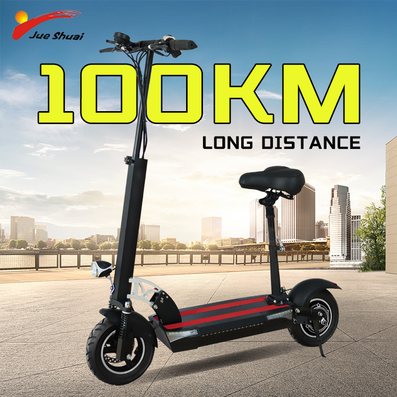 Foldable 800w Electric Scooter Adults with Seat 48V 26AH  E Scooter Battery 100KM Long Distance 25MPH High Speed EU USA in Stock