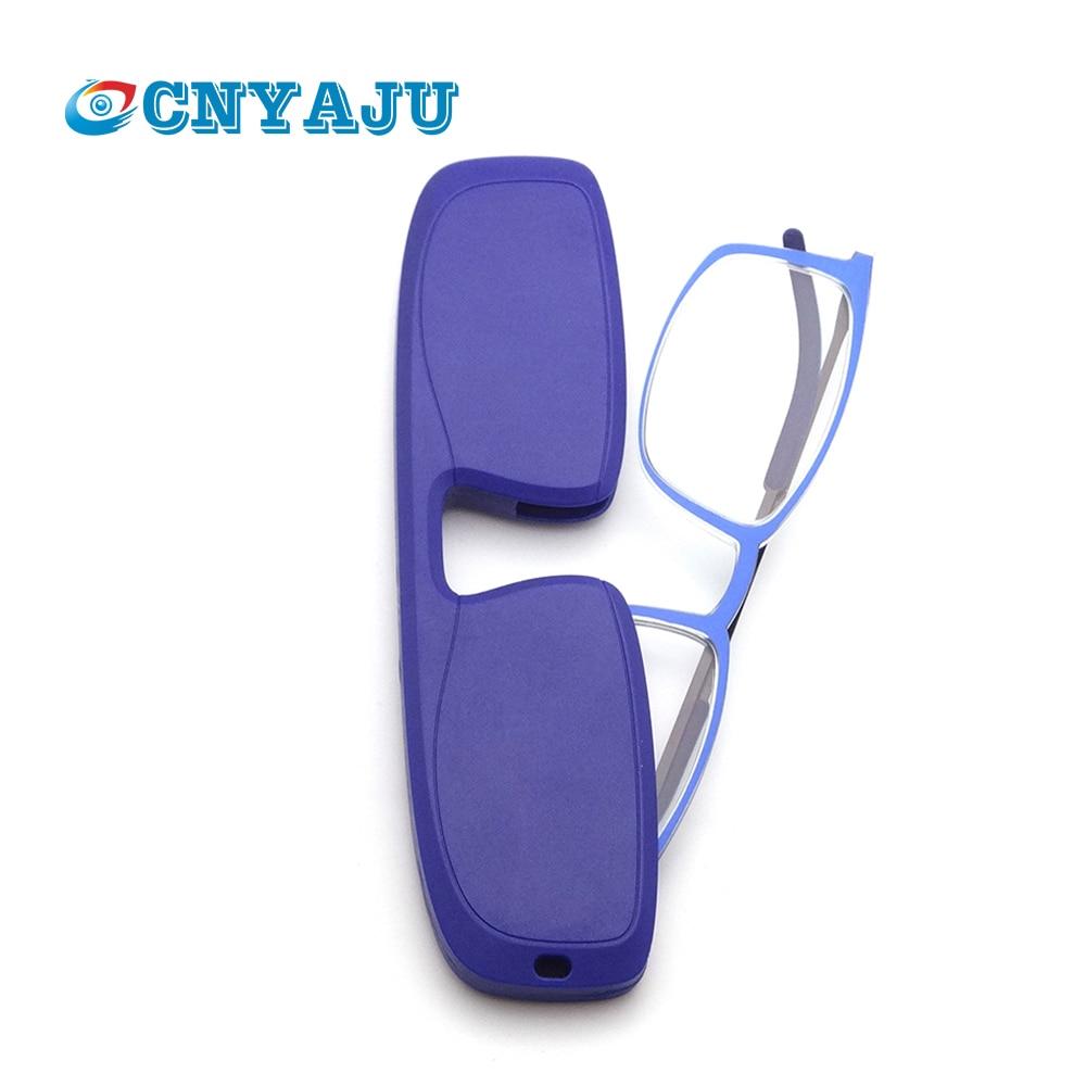 CNYAJU Ultra Thin Reading Glasses Portable Glasses, TR90 Lightweight Computer Readers Women Men+1.0 1.5 2.0 2.5 3.0 3.5