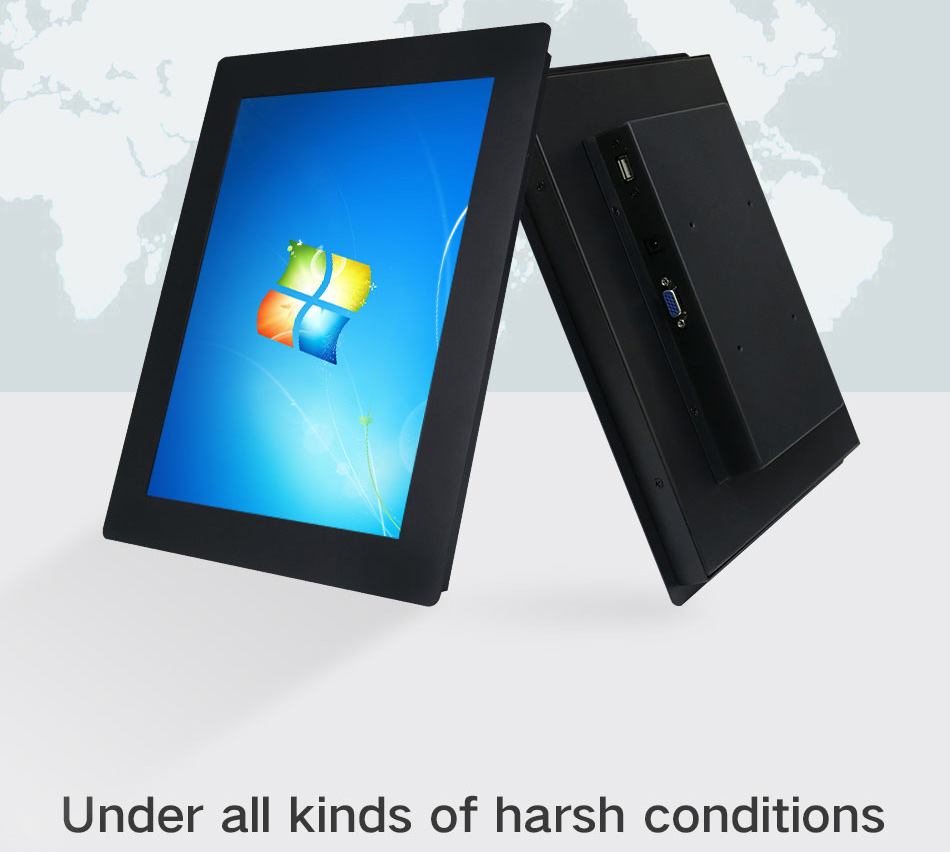 Factory Price 10 12 14 15 17 Inch Industrial Tablet PC Not Touch Screen Core J1800 2G 32G Embedded Mounting All In One Pc
