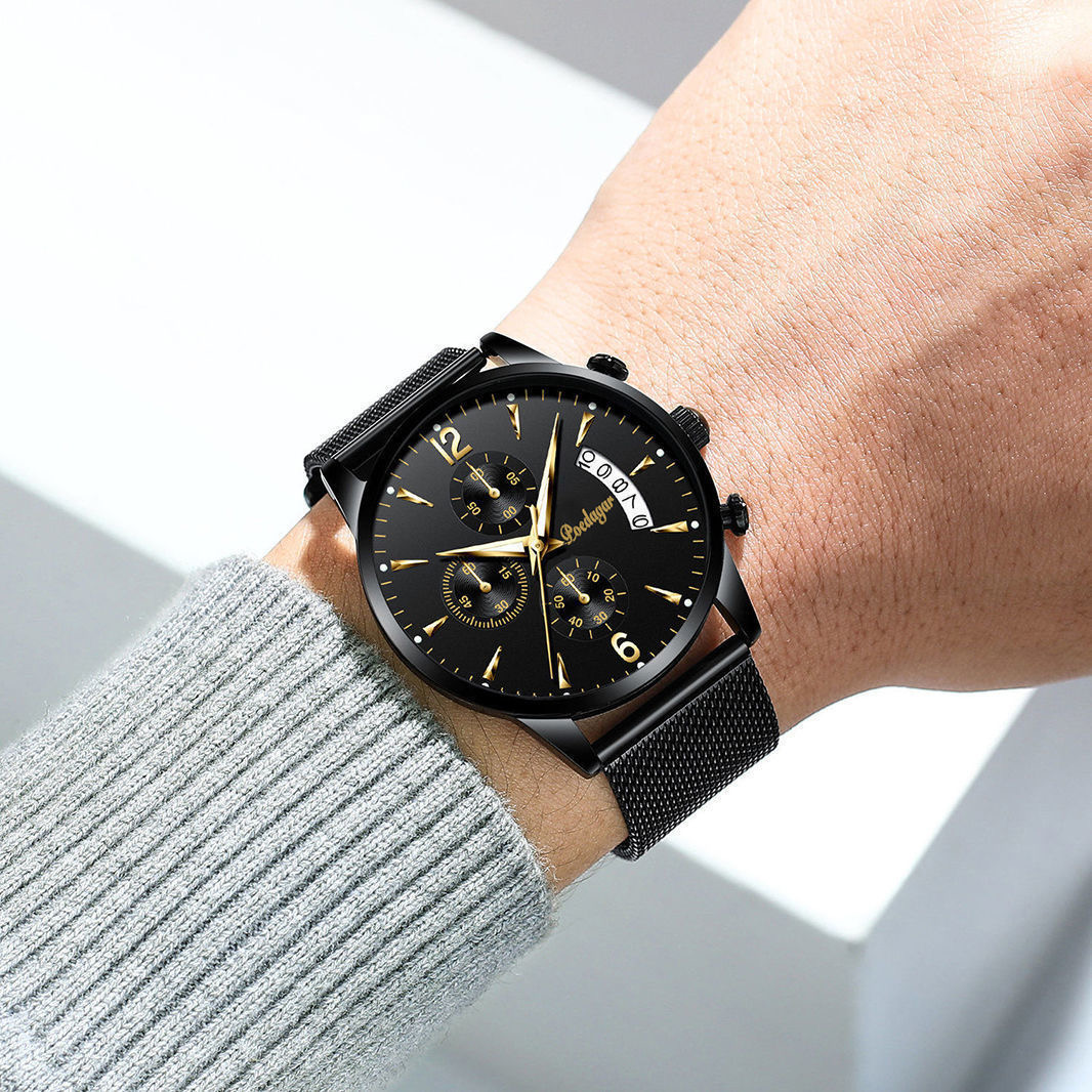 POEDAGAR 2021 New Fashion Men's Watches Waterproof Luminous Quartz Wristwatch Top Brand Luxury Clock Casual Relogio Masculino 5