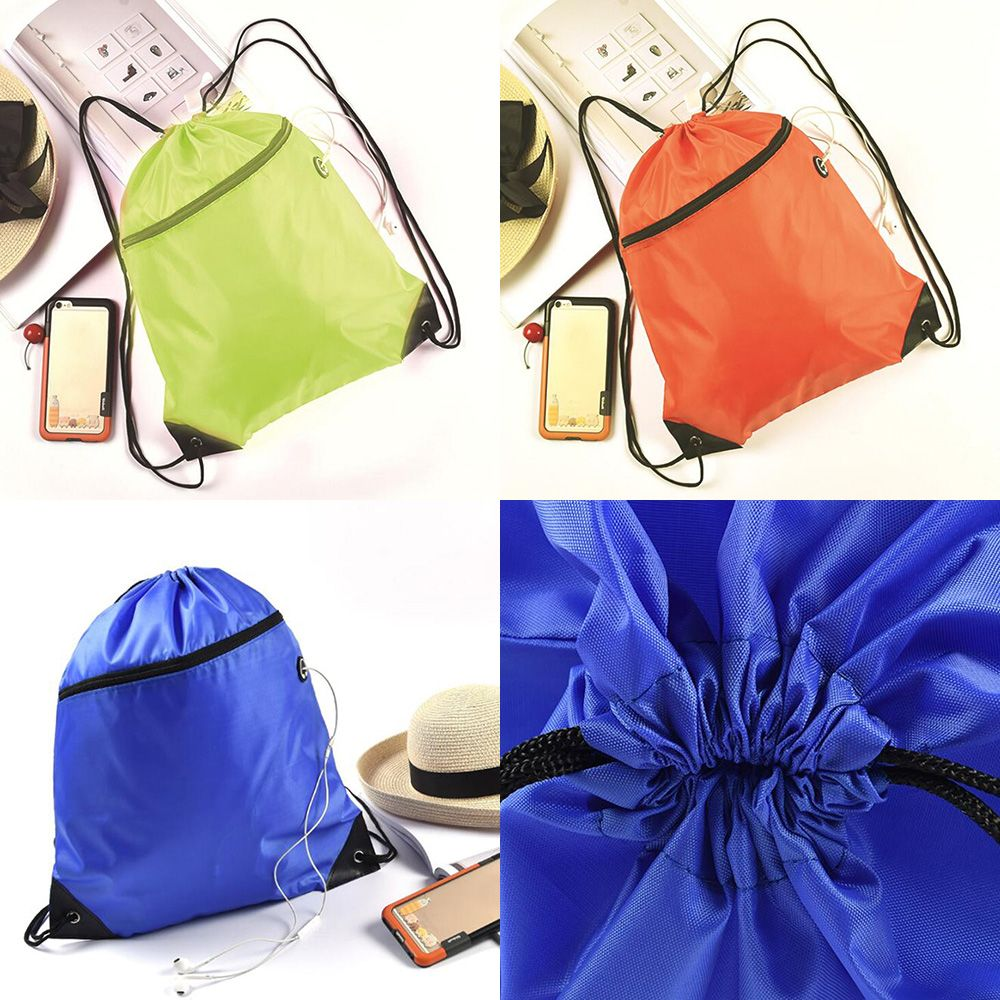 Sock Punky Drawstring Backpack Sports Athletic Gym Cinch Sack String Storage Bags for Hiking Travel Beach
