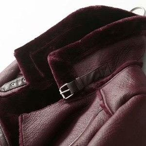 Зимняя женская теплая куртка с длинными рукавами и отворотами, модная повседневная куртка с поясом, однотонное хлопковое пальто для женщин