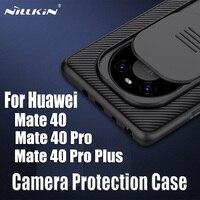 NILLKIN-funda para Huawei mate 40 Pro/40 Pro + Plus, cubierta trasera deslizante para cámara