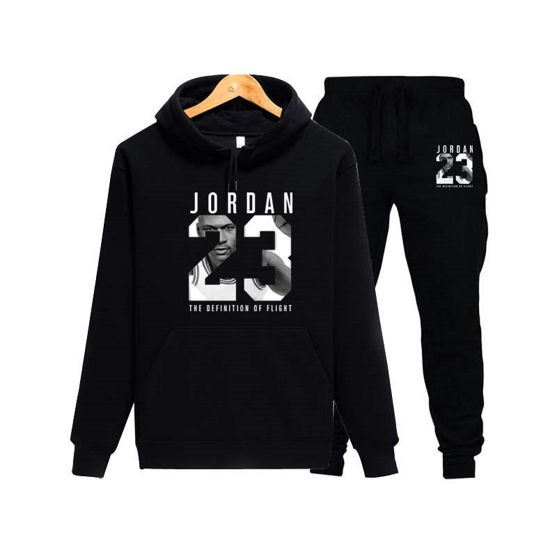 Autumn Comfort Jordan 23 Sportswear Sweatshirt Men's Hoodie And Sweatpants Fashion Jogger Men's Suit Spring Street Sportswear Jo