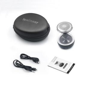 Image 5 - Lewinner C7 Bluetooth V5.0 kablosuz hoparlörler HiFi Stereo sütun taşınabilir hoparlör romantik renkli mikrofon ile ışık