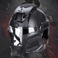 Outdoor Sports Airsoft Paintball Tactical Helmet Military Helmet CS Combat Helmet Overall Protect Helmet