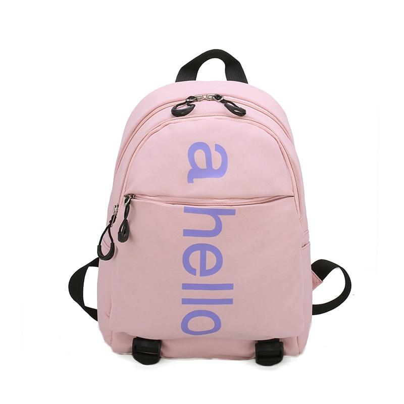 3-6 Year Old  New Fashion Children School Bags for Girls Boy letter Design Student Backpack school bags mochila