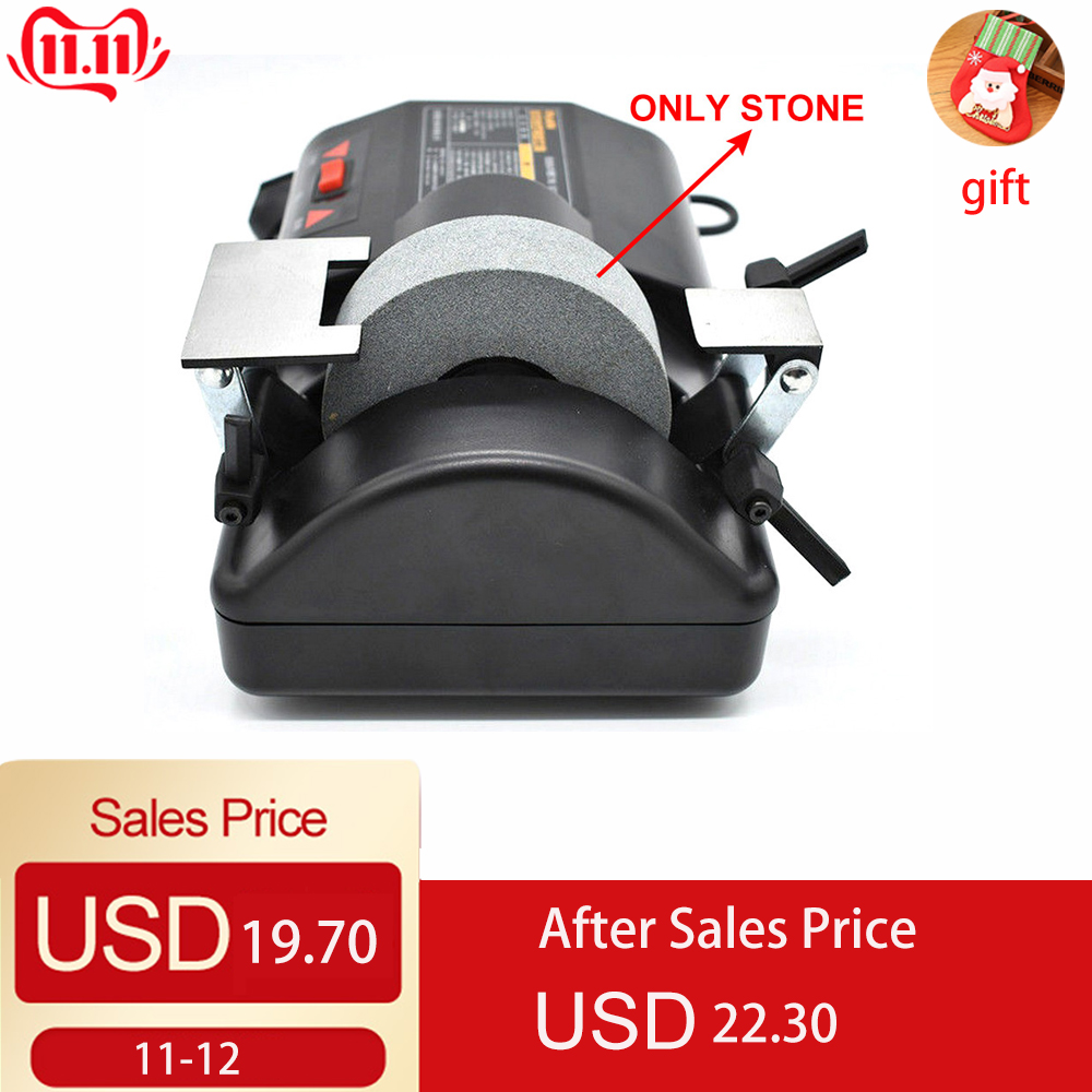Knife Grinding Machine 5 inch Electric Water Cooled Low speed Grinder Knife  Grinding Machine Sharpener 120W 220V Fast Shipping|Grinding Machine|Tools - title=