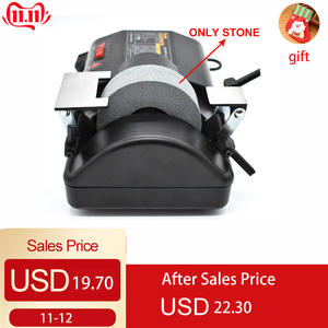 Sharpener Knife Grinding-Machine Low-Speed-Grinder Electric Water-Cooled 220V 5inch 120W