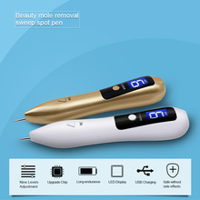 9 level LCD Face Skin Dark Spot Remover Mole Tattoo Removal Laser Plasma Pen Machine Facial Freckle Tag Wart Removal Beauty Care недорого