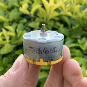 Standard Motor RC500-KN/13500 DC 6V 9V 12V 5300RPM Micro Mini 32mm Round Spindle for Fragrance Machine Robot Sweeper - discount item  10% OFF Electrical Equipment & Supplies