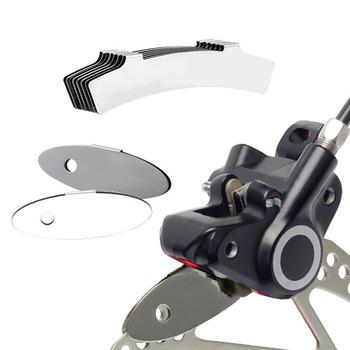 Klocki hamulcowe do rowerów górskich narzędzie do regulacji mocowania rowerów asystent klocków hamulcowych Spacer Rotor wyrównanie narzędzia akcesoria rowerowe tanie i dobre opinie 126 391 Linia ciągnięcie hamulec tarczowy Full size