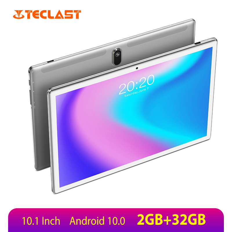 Teclast P10SE 10.1 Inch Tablet SC7731E Quad Core 1280*800 IPS 2GB LPDDR 32GB eMMC Android 10.0 Google Play Dual Camera Tablet pc