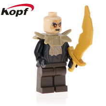 20Pcs PG539 Lord of The Rings Serie Azog Bombur Bilbo Orc Lurtz Bouwstenen Action Bricks Collectie Voor Kinderen gift Speelgoed(China)