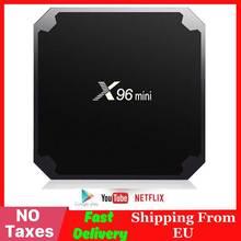 X96 mini Smart Android TV BOX Amlogic S905W Quad Core 4K Media Player 2 4GHz WiFi