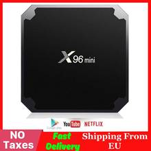 X96 mini Smart Android TV BOX Amlogic S905W Quad Core 4K Med