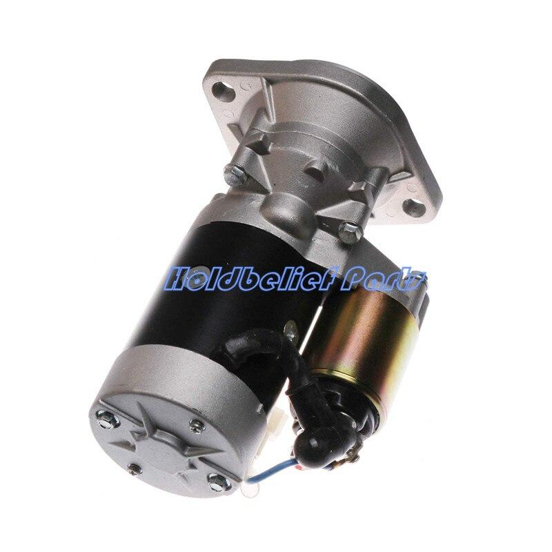 스타터 모터 YM171008-77010 Komatsu 3D78N-1C 3D78 3D84 3D84N PC30-7 PC25-1
