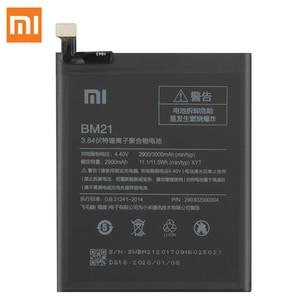 "Image 2 - Original Replacement Battery For XiaoMi Redmi Note Mi Note Note 5.7""  Redrice Note BM21 Genuine Phone Battery 2900mAh"