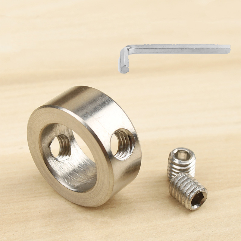 3-16mm Woodworking Drill Locator With Allen Wrench Double-hole Screws Drill Bit Depth Stop Collars Ring Positioner Wood Bit Tool