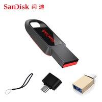 Chiavetta USB Sandisk 32 64 128 16 GB Mini Pendrive 128gb 64gb 32gb 16 gb Pen Drive 2.0 chiavetta USB disco su memoria chiave per telefono