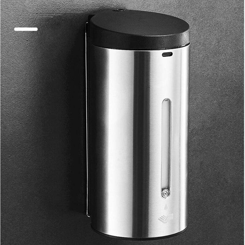 Badkamer 304 SS Materiaal automatische sensor Zeepdispenser Vloeibare Douche Shampoo dispensoer Wandmontage hotel producten - 2