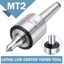 MT2 0.001 Accuracy 5000rpm Max Steel Lathe Live Center Taper Tool Triple Bearing CNC Live Revolving Milling Center Taper Machine