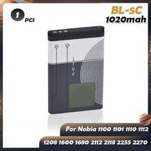 BL-5C BL5C BL 5C bateria litowa litowo-jonowa dla Nokia 6330 6263 1110 1200 1208 1280 1600 2600 2700 3100 3110 5130 6230 6230i n70 n72
