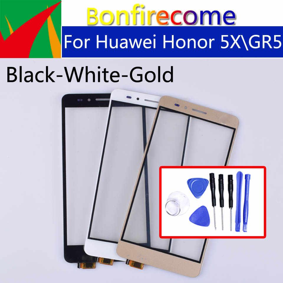 """5.5 """"لمس لهواوي الشرف 5X لوحة شاشة لمس الاستشعار محول الأرقام ل GR5 KII-L21 L22 L23 L03 L05 عرض زجاج عدسة"""