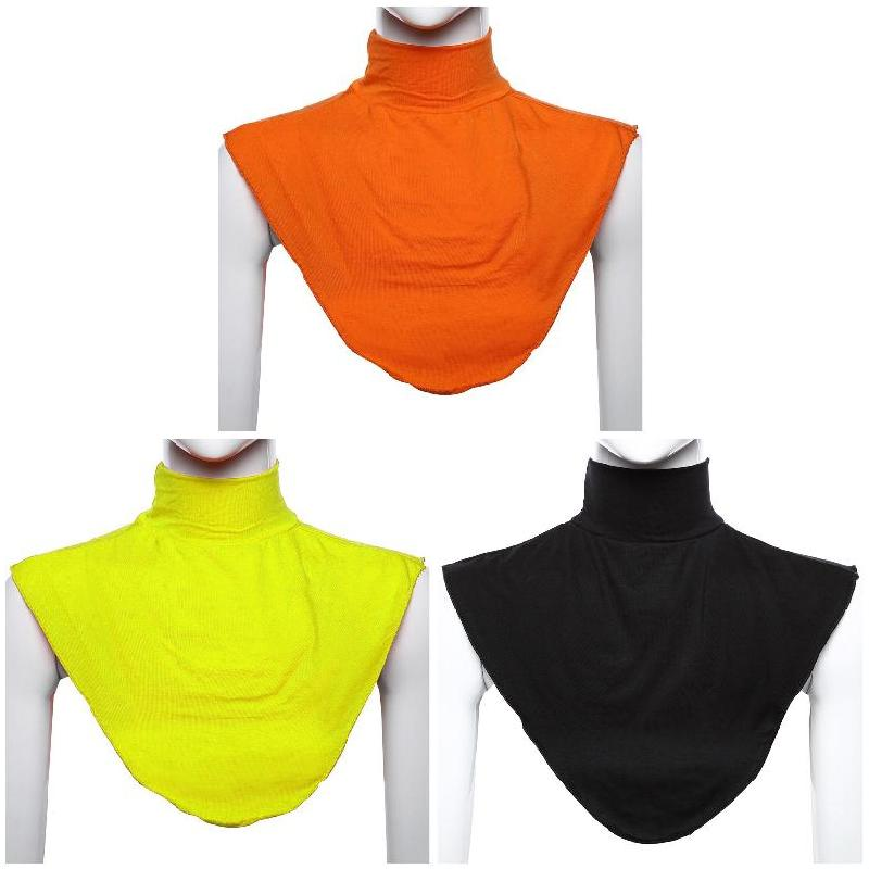 2019 Hot  Sale Muslim Women Lady Modal Fake Collar Hijab Neck Shoulder Cover Neckwear Fashion J9