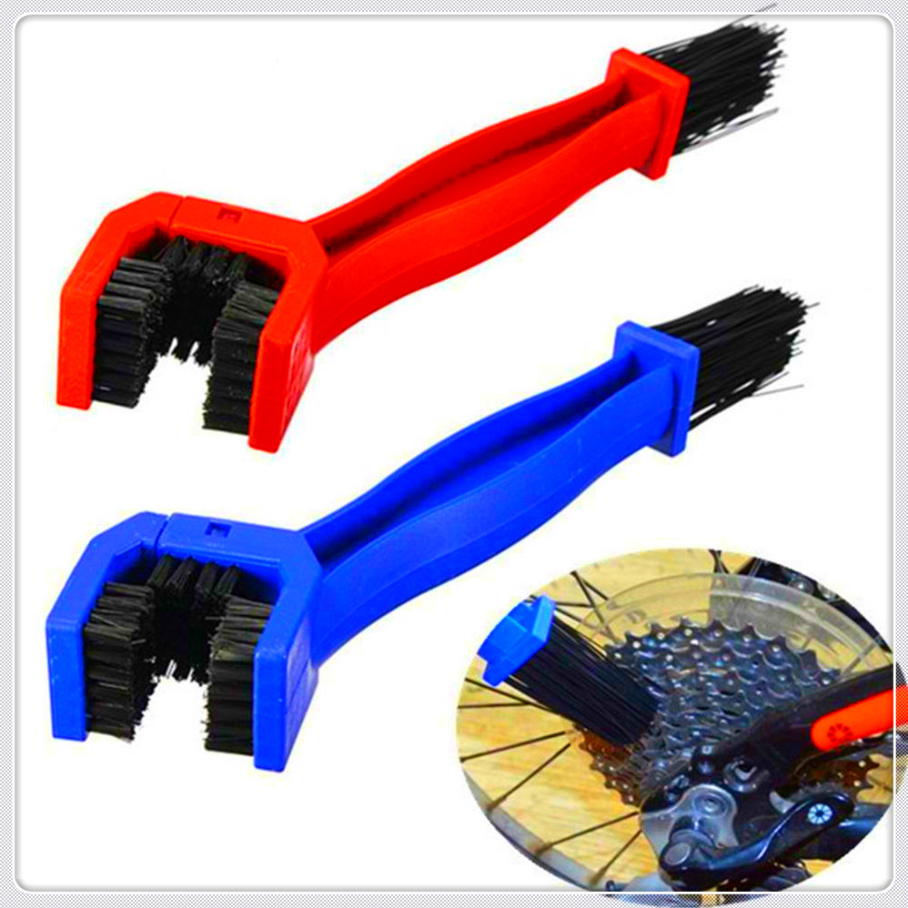Motorcycle Chain Brush Gear Grunge Cleaner Scrubber Tool for Kawasaki KX65 KX80 85 KX125 KX250 <font><b>KX250F</b></font> KX450F KLX450R KLX125 image