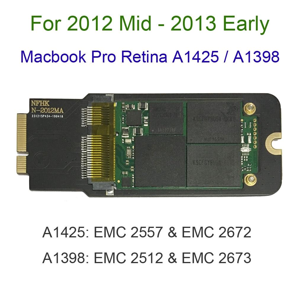 NEW 256GB 512GB 1TB SSD For 2012 2013 Early Macbook Pro Retina 13