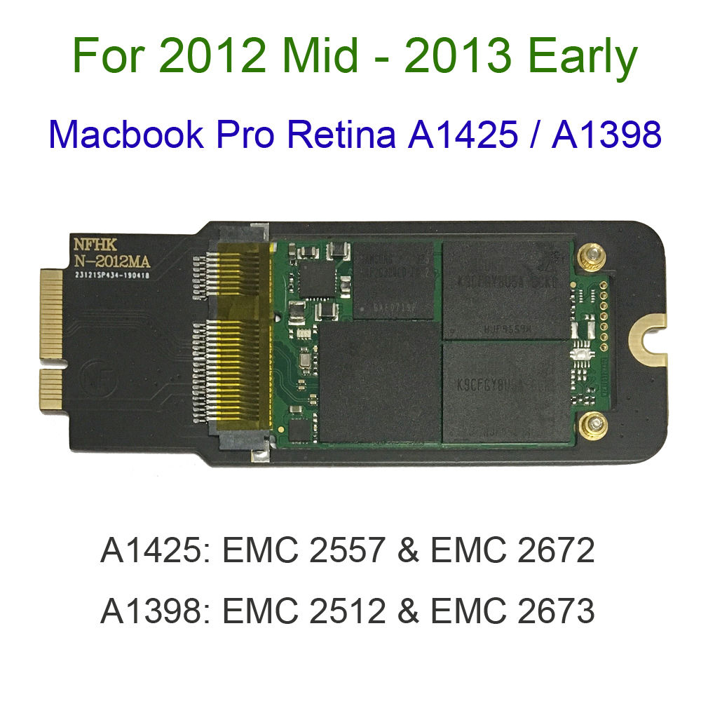 NEW 512GB 1TB SSD For 2012 2013 Early Macbook Pro Retina 13