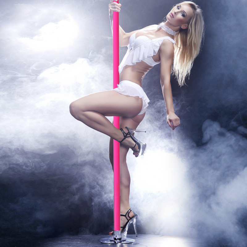 Silicone Portable Dance Fitness Pole Indoor Dance Training Pole For Beginner Professional Stripper Pole Dance Equipment HW150
