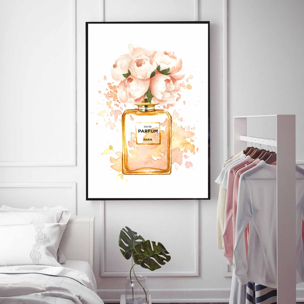 Modern Wall Picture Vogue Poster Perfume Bottle Nordic Posters And Prints Wall Art Canvas Painting For Living Room Home Decor