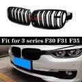 Grillades à 2 lattes pour BMW 3 | Pour BMW série F30 F31 F35 316i 318d 320i 325d 2012 +