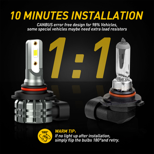 Image 5 - AUXITO 2X H11 LED مصابيح كهربائية الضباب H8 H9 H16 JP LED CSP 6000k أبيض/3000k الذهبي الأصفر 12 فولت 24 فولت DRL سيارة النهار تشغيل مصباح تلقائي