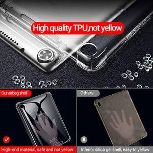 Image 4 - Чехол PZOZ для HuaWei M6, силиконовый ударопрочный прозрачный чехол из ТПУ для HuaWei M3 M5 8,4 10,8 M3 M5 lite 8,0 10,1, чехол для планшета