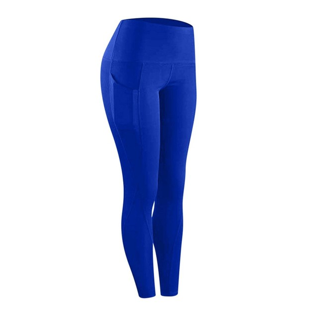High waist sports legging with pocket for women fashion new female workout stretch Yoga pants plus size Elastic fitness leggings 3