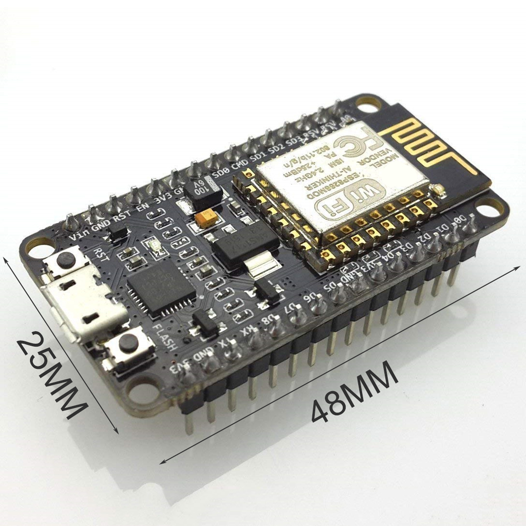 1pc Wireless Module NodeMcu WIFI Internet Development Board ESP8266 With Pcb Antenna And Usb Port CP2102 Model in Circuit Breakers from Home Improvement