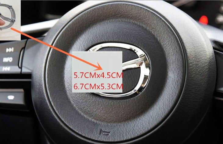 1 х хромированный Серебряный ABS 3D высококачественный логотип Автомобильный руль логотип значок эмблема наклейки аксессуары автостайлинг 074