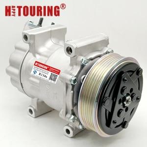 Image 4 - For Sanden SD6V12 6V12 A/C Compressor For Peugeot 206 307 1998 2010 96390781 9639078180 96462733 9646273380 96462738 9646273880